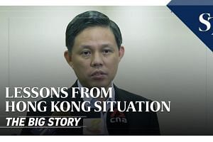 Lessons from Hong Kong situation | THE BIG STORY | The Straits Times