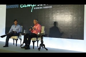 Q3: What Role Will Tech Play in Singapore's Future? (Camp Sequoia Dialogue)