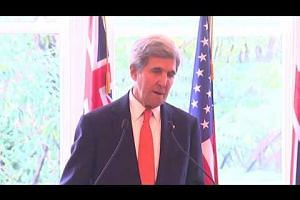John Kerry says US will push to implement climate deal