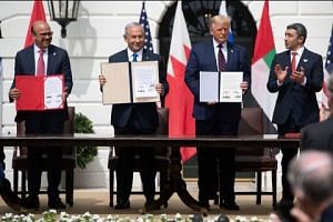 Peace deals mark 'dawn of a new Middle East': Trump