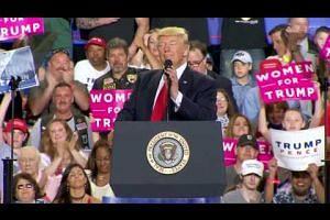 Trump trolls White House press dinner during Pennsylvania rally