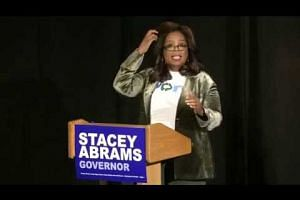 Oprah brings star power for Stacey Abrams in Georgia