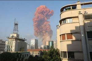 Massive explosion devastates Beirut seaport