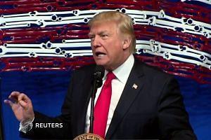 Donald Trump defiant over tariffs