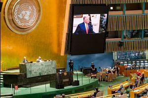 Trump calls on UN to hold 'China accountable' for coronavirus