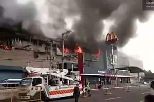 Philippines mall engulfed in flames and smoke, leaving 37 dead