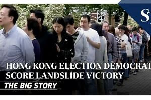 Hong Kong election results | THE BIG STORY | The Straits Times