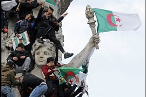 Algeria's Bouteflika arrives home to mass protests