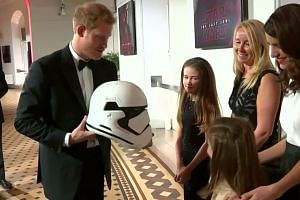 Royals turn out for Star Wars: The Last Jedi premiere