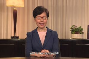 Video address by Carrie Lam to members of the public