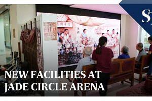 New facilities at Jade Circle Arena | The Straits Times