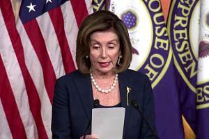 Nancy Pelosi, citing report, says Trump admin broke law