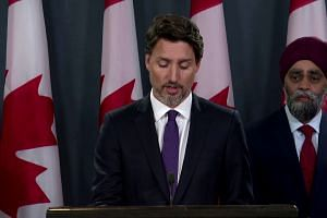 Evidence indicates Ukrainian jet shot down by Iran: Trudeau