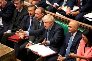 British  lawmakers reject PM Johnson's request for early election