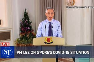 PM Lee addresses nation on Singapore's Covid-19 situation | ST LIVE