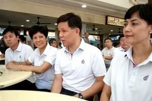 Tanjong Pagar GRC MPs: MP Chan Chun Sing speaking to reporters