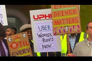 Uber CEO flies to London as competitors circle prey