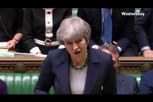 Britain votes down a 'no-deal' Brexit