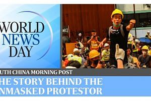 World News Day: Getting the story of the unmasked Hong Kong protestor | South China Morning Post