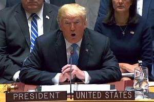 Trump calls out Syria, Russia, Iran at UN meeting