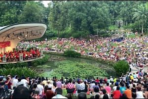 ST Concert in the Gardens by the SSO