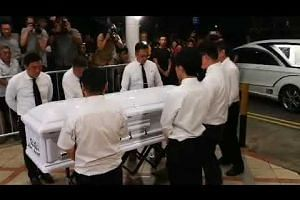 Body of Aloysius Pang arrives at MacPherson Lane