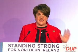 DUP leader Arlene Foster says UK must leave EU as one nation