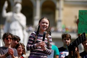 Activist Greta Thunberg warns of planet's future if we do not 'fix the climate'