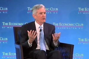 Jerome Powell says Fed can be patient