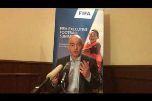 Fifa chief Gianni Infantino on possible changes to World Cup format
