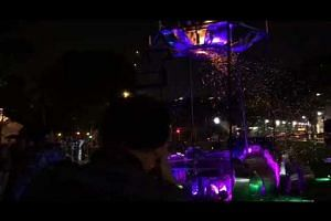 Ember Rain by local collective Starlight Alchemy, at Singapore Night Festival, on Aug 15, 2018
