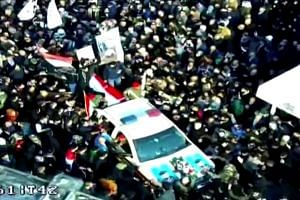 Thousands mourn Soleimani in Iraq funeral