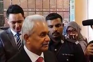 New Attorney-General Tommy Thomas reports for duty