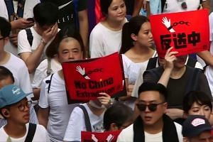 Huge protests hit Hong Kong over new China extradition laws