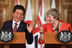 Tokyo in 'total support' of May's Brexit deal, says Japanese Prime Minister Abe