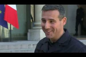 Notre-Dame firefighters 'honoured' at Elysee Palace