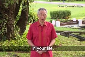 PM Lee's New Year message