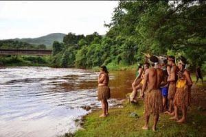 Brazilian tribe blames 'white man' over dam disaster