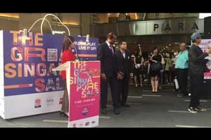 Launch of the Great Singapore Sale at Paragon