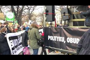 Hundreds gather for climate march in Poland