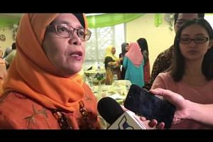 "Halimah Yacob weighed in on the debate about whether she is ""Malay enough"" to run as candidate"