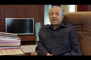 Malaysia's former prime minister Mahathir Mohamad on his health