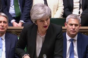 UK parliament votes for amendment on ruling out no-deal Brexit