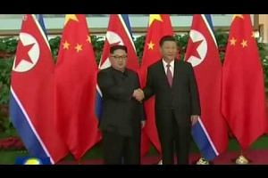 North Korean leader visits President Xi Jinping in China