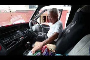 Uncle Bread to cease operating his Mini Provision Shop van