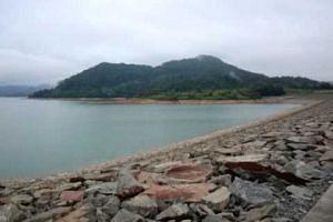 Linggiu Reservoir in Johor