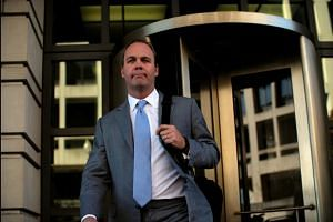 Rick Gates arrives in court