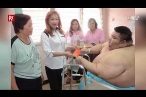 Obese man now in better health