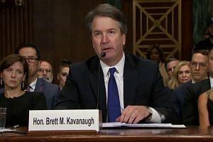 Senate panel sets afternoon vote on Kavanaugh