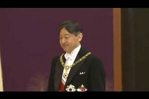 Japan's new Emperor Naruhito officially takes up post